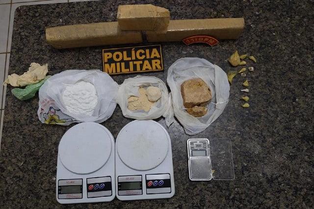 Membro de organização criminosa responsável por distribuição de droga e 'salve' em Feliz Natal é preso pela Força Tática