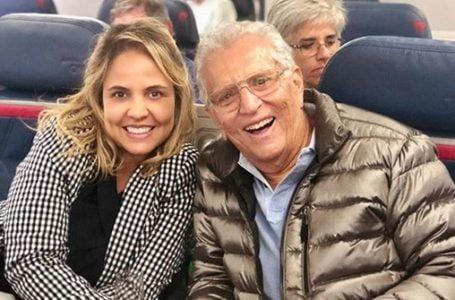 Carlos Alberto de Nóbrega e esposa são internados após diagnóstico de Covid-19