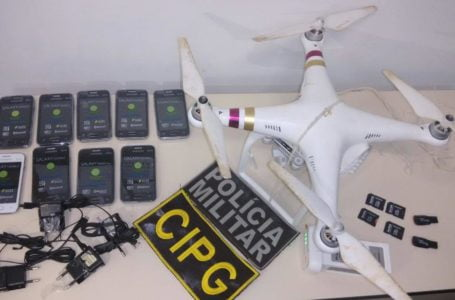 Polícias de MT vão usar drones de bandidos para combater crimes em presídios
