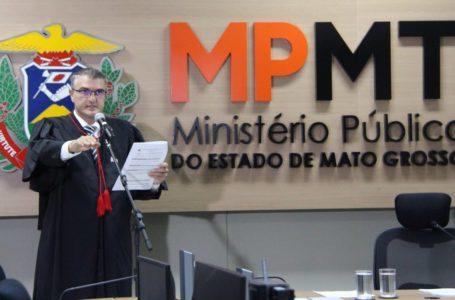 Procurador-geral de Justiça assume compromissos durante recondução ao cargo