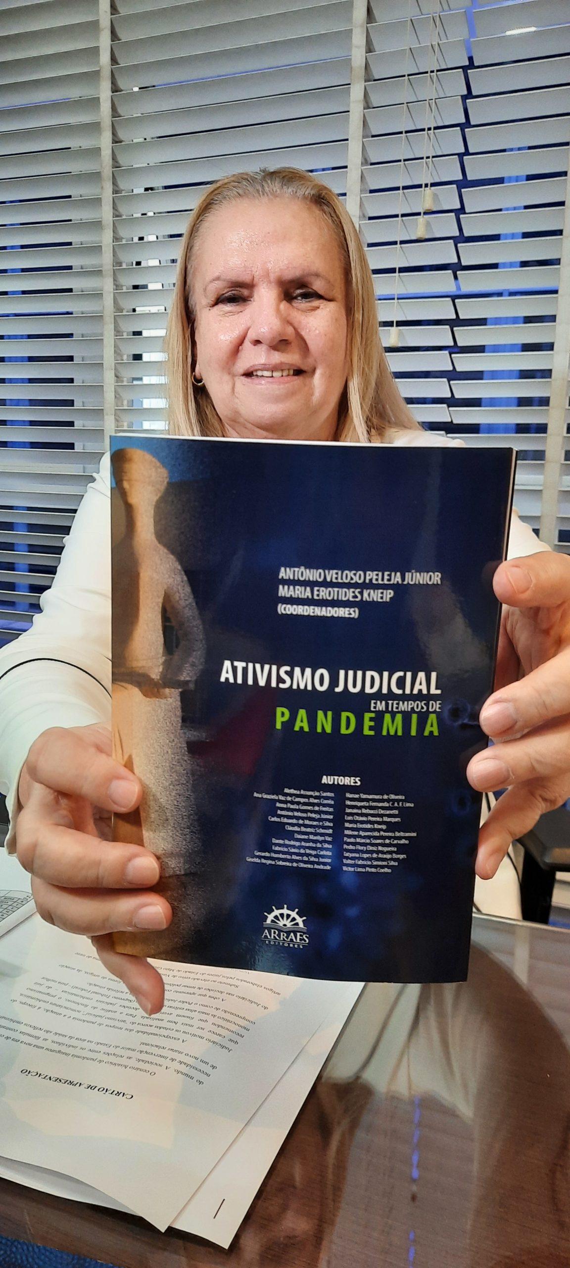 """Magistrados de Mato Grosso lançam livro """"Ativismo Judicial em Tempos de Pandemia"""" no próximo dia 26"""