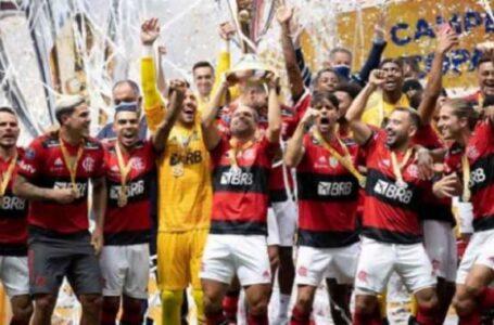 Fla se aproxima do Palmeiras na lista de títulos nacionais