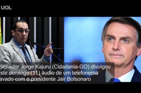 Kajuru divulga conversa com Bolsonaro e agora pode responder no Conselho de Ética