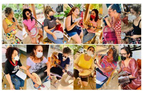 Mulheres na Roda de Samba faz show drive-in no Sesc Arsenal neste sábado (08)