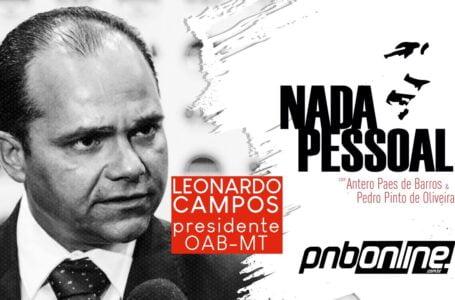 Presidente da OAB-MT Leonardo Campos fala da inercia do Governo Federal nesta pandemia Covid 19
