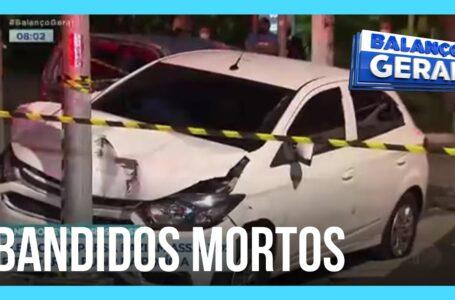 Bandidos que faziam assaltos morre baleados pela policia