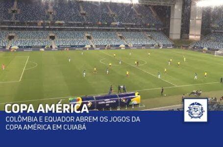 COPA AMÈRICA: Colômbia e Equador empatam 0X0 na Arena Pantanal