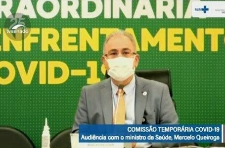 Ministro Queiroga desmenti prefeitos de Cuiabá, várzea Grande e afirma que governo federal não pretende enviar doses extras por conta da Copa América
