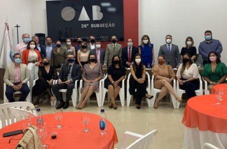 Comitiva da OAB-MT debate demandas da advocacia de Comodoro e Pontes e Lacerda