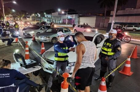 Operação Lei Seca prende quatro pessoas e autua 39 motoristas