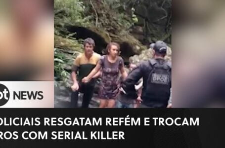Serial Killer: Policia resgata reféns no mato
