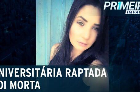 Universitária Rebeca desaparecida encontrada morta, suspeito é o ex-cunhado