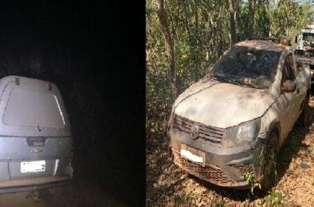 Dois carros e um caminhão são recuperados em Várzea Grande
