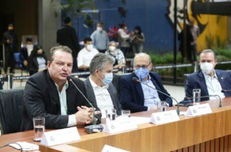 """""""Investir em ferrovia vai acelerar produção e desenvolvimento de Mato Grosso"""", avalia Max Russi"""