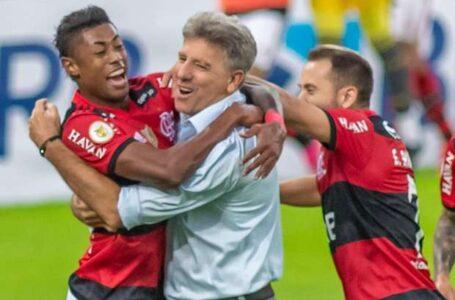Flamengo goleia o São Paulo de virada no Maracanã