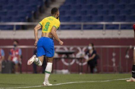 Com gol de Matheus Cunha, Brasil vence e está na semifinal