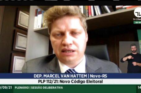 Câmara dos deputados vota novo Código Eleitoral PLP 112/21