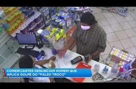 Golpista do troco da mais um golpe em supermercado leva R$ 400.00 de boa